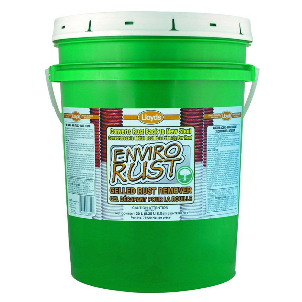 Enviro Rust - Non Acid Rust Remover - gel, 78720, 20 L pail (5.25 gal)
