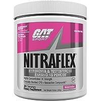 GAT Clinically Tested Nitraflex, Testosterone Enhancing Pre Workout, Watermelon, 300 Gram