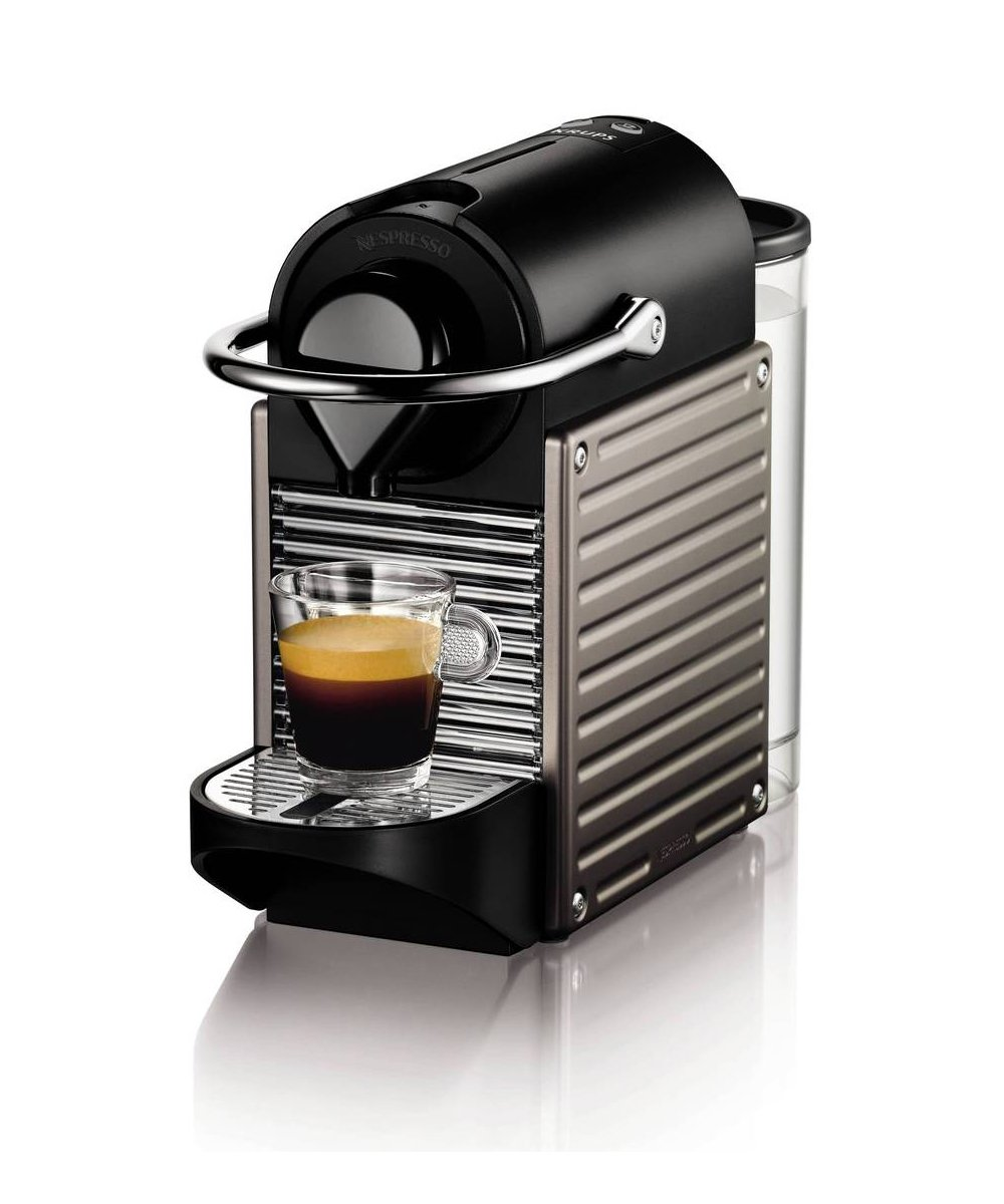 nespresso xn300540 pixie coffee machine by krups. Black Bedroom Furniture Sets. Home Design Ideas