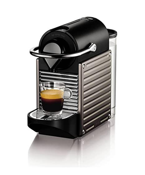 Nespresso Pixie por Krups Cafetera XN300540, Titanium ...