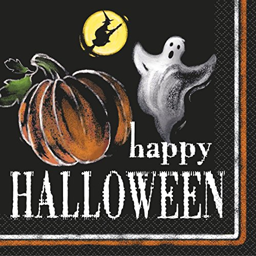 Ghostly Halloween Party Napkins, 20ct -