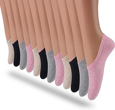 LAISOR Cotton No Show Sock Women's