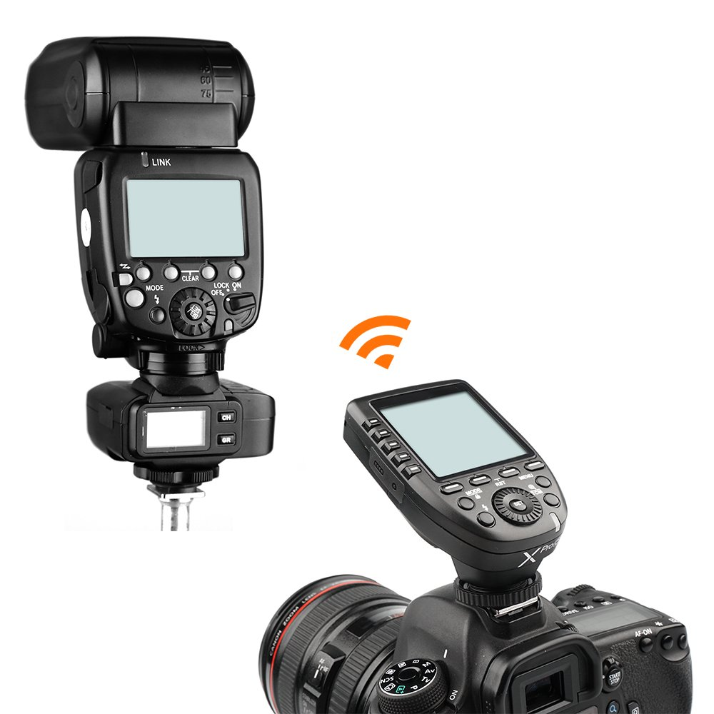 Godox Xpro-C E-TTL II 2.4G X System Wireless Control Remote Trigger with 2X X1R-C Controller Receiver Compatble for Canon Flash by Godox (Image #5)