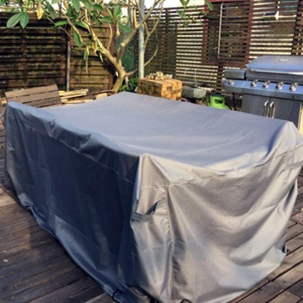 EU-14-Haucalarm Outdoor praktische Zeltplane Outdoor-Zelt Outdoor-Niture-Staubschutzhülle Regenschutzhülle Schutztuchabdeckung Wasserdichte Tisch- und Stuhlabdeckung