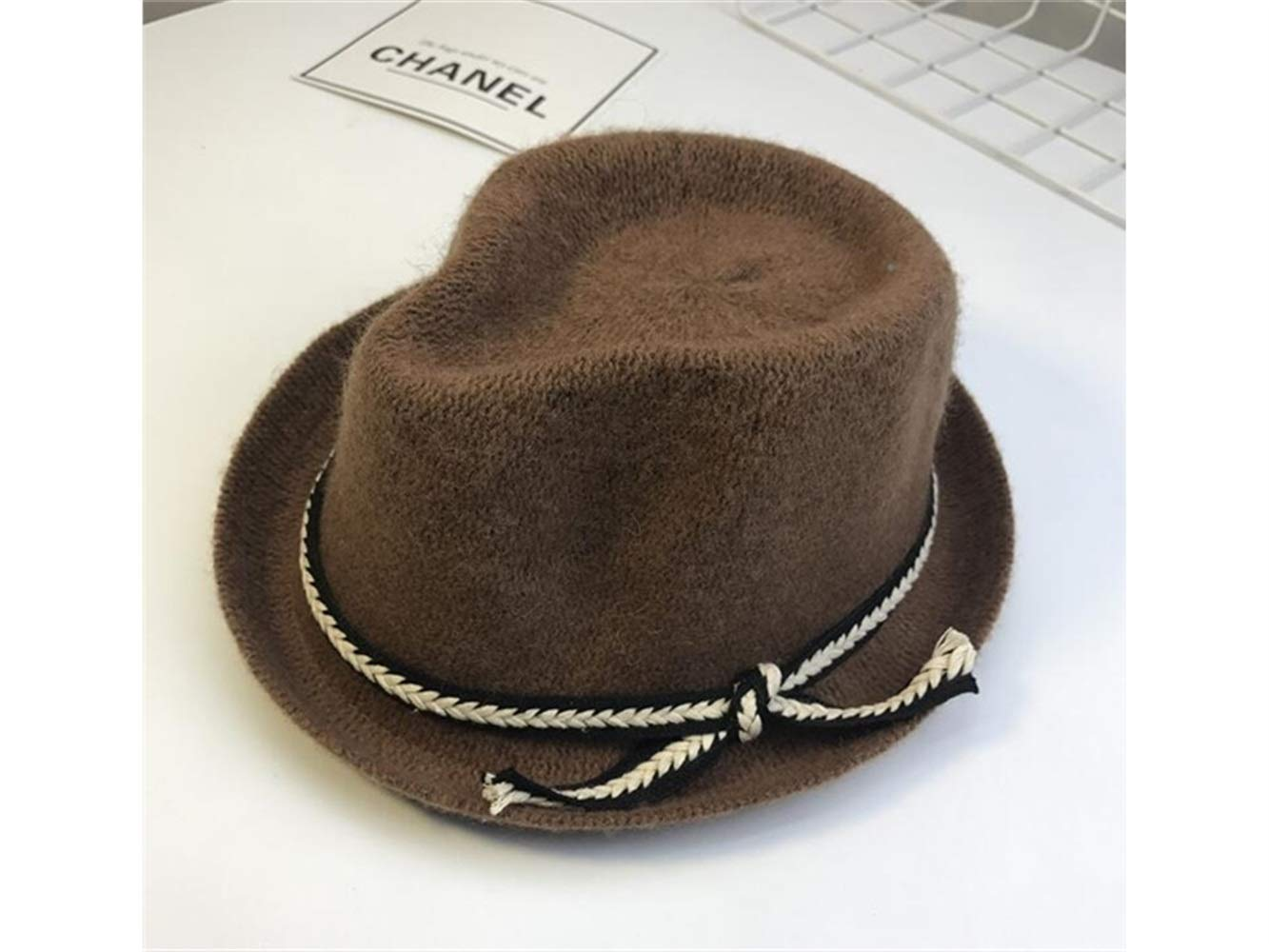 Amazon.com  Infant Cap Kids Solid Color Bowler Hat Children Knitting Jazz  Hat Autumn Keep Warm Hat for 3-7 Years Old(Khaki) Baby Gift (Color    Colorful 8c70f4b8857