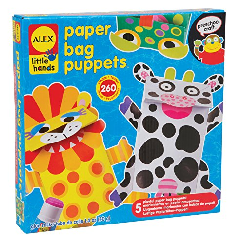 Hand Puppet Childrens Toy (ALEX Toys Little Hands Paper Bag Puppets)