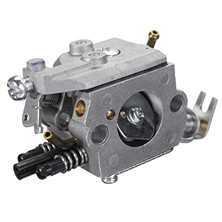 CALALEIE Carburador Carb para Husqvarna 322C 322L 323C 323L 325L ...