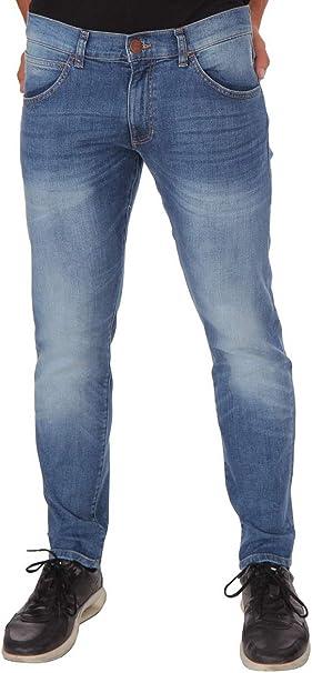 Wrangler Bryson Ocean Pantalones Vaqueros Para Hombre Color Azul Ocean Drive 30w X 33l Amazon Es Ropa Y Accesorios