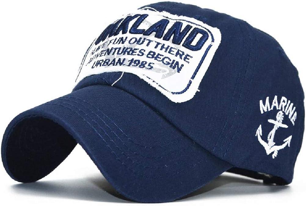 Gorras Beisbol Moda Unisex Sombreros Hip Hop Clean Trucker Gorra de b/éisbol para Hombre Mujer Gorra de algod/ón