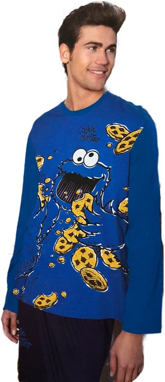 Pijama Hombre Monstruo DE Las Galletas Cookie (S): Amazon.es: Ropa ...