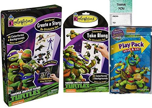 ninja turtle play kits - 3