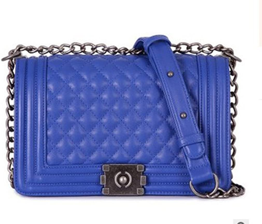 MacJane fashion crossbody bag for women on sale designer bags for women with chain strap Blue