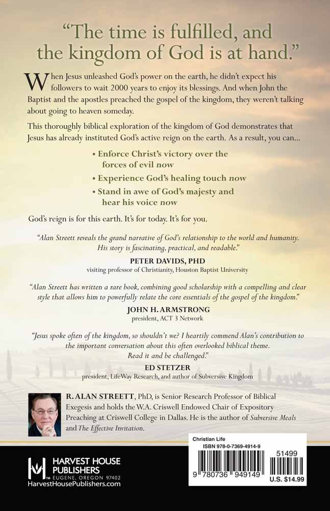 Heaven on earth experiencing the kingdom of god in the here and now heaven on earth experiencing the kingdom of god in the here and now r alan streett 9780736949149 amazon books fandeluxe Choice Image