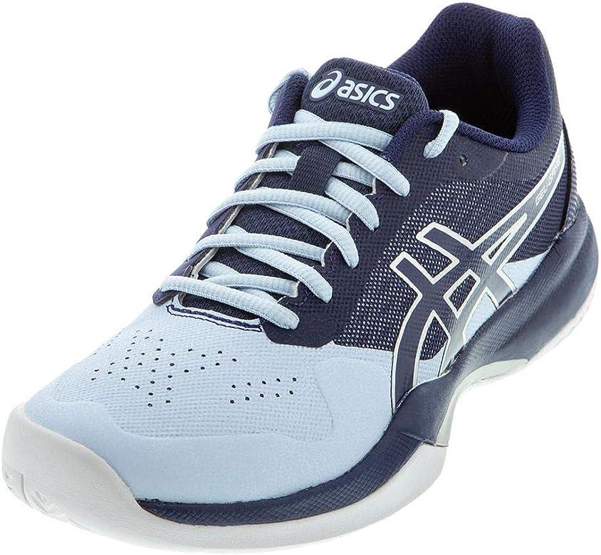 ASICS Womens Gel-Game 7 Tennis Shoes (Soft Sky/Peacoat, 8.5 ...