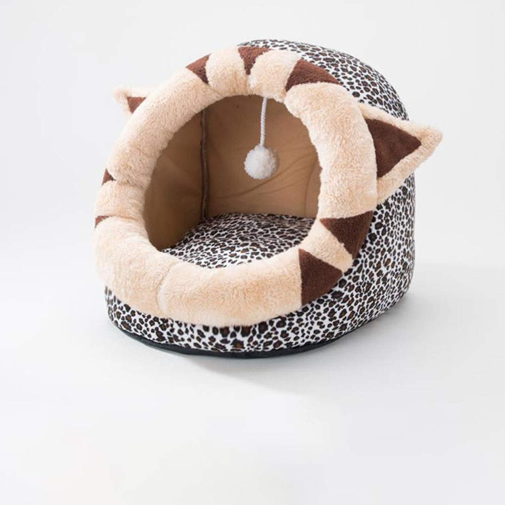 Style B FANQIECHAODAN Pet Bed Comfortable Soft Full Washable Pet Beds Dog Kennel Cotton Nest