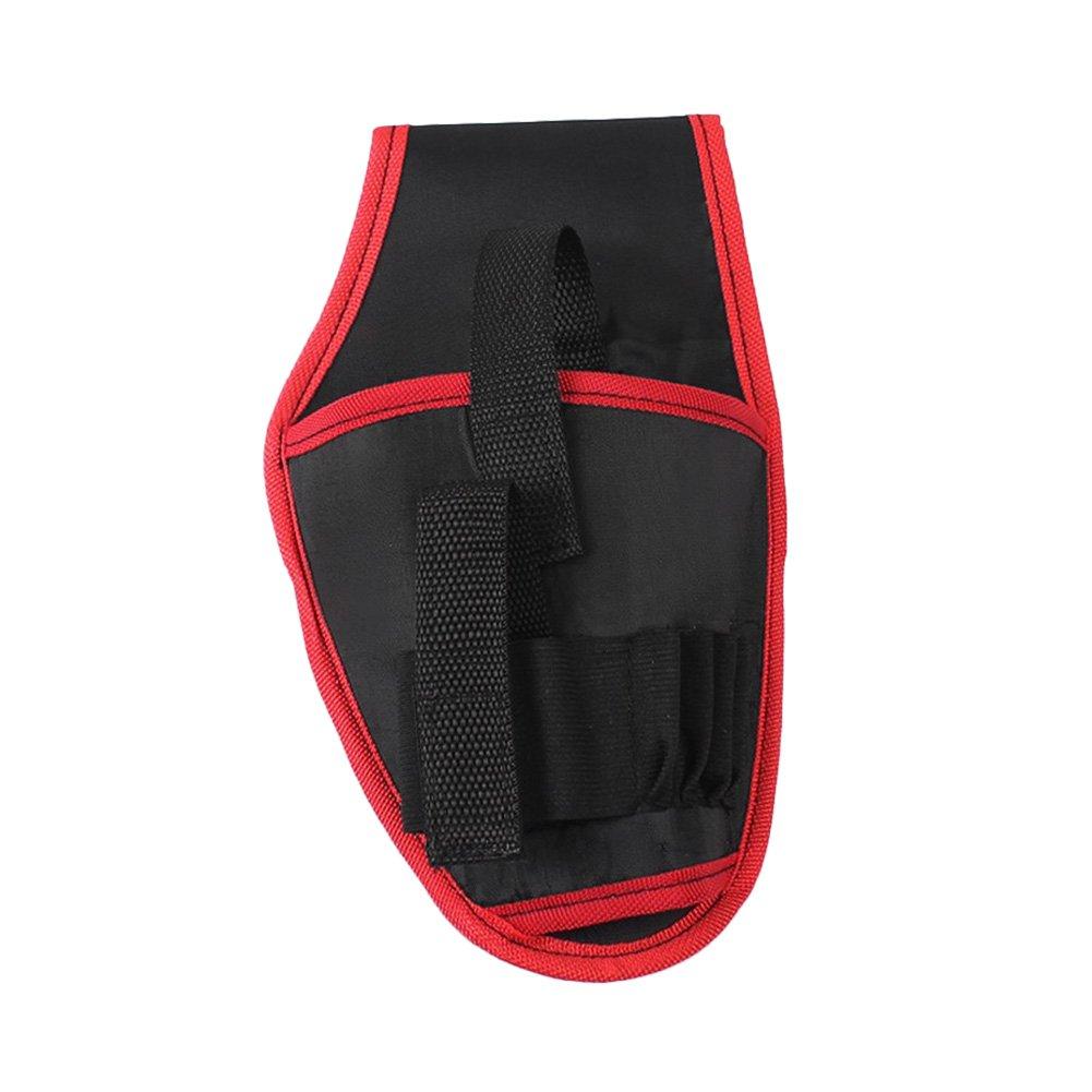 Rokoo Poche portative de stockage de support de foret de sac de taille d'outils portatifs pour l'outil de foret électrique de 12V