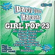 Party Tyme Karaoke - Girl Pop 23 [8+8-song CD+G]