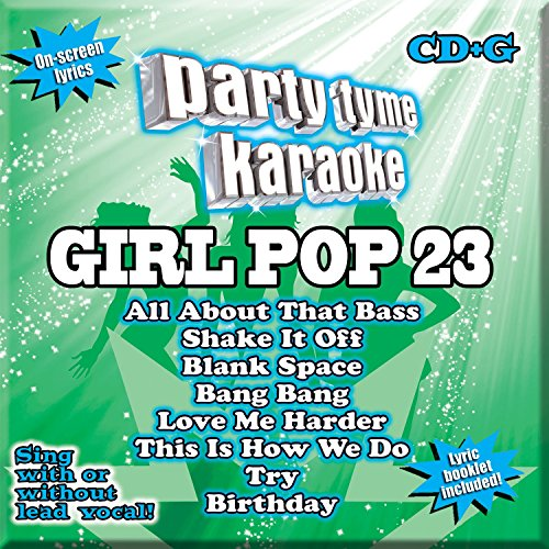 Party Tyme Karaoke - Girl Pop 23 [8+8-song CD+G]