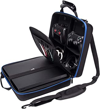 Funda protectora de viaje para PlayStation PS4 y consola Slim System, bolsa de transporte y accesorios, # 81050: Amazon.es: Electrónica