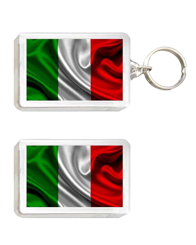 Llavero y Imán Bandera ITALIA: Amazon.es: Juguetes y juegos