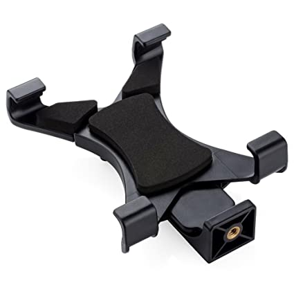 amazon com ipad tablet tripod mount adapter universal clamp holder