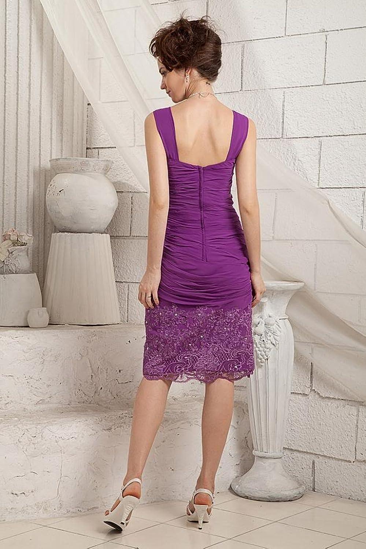 GEORGE BRIDE Short Sheath Ruched Evening Dress