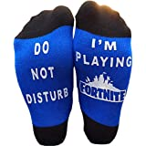 EPIC SOCKS - Do Not Disturb - I'm Playing For nite Novelty socks - Boys gifts