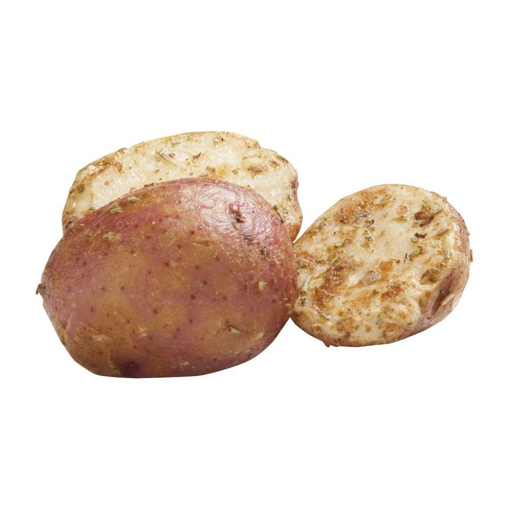 Simplot RoastWorks Rosemary Roasted Redskin Halves Potato, 2.5 Pound - 6 per case.