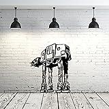 Star Wars AT-AT Walker Wall Decal Vinyl Sticker Decals Star Wars Wall Decal Children Kids Nursery Bedroom Office Decor Window Dorm ZX203