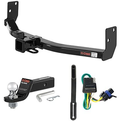Pleasing Amazon Com Curt Class 3 Trailer Hitch Tow Package With 2 Ball For Wiring Digital Resources Sapredefiancerspsorg