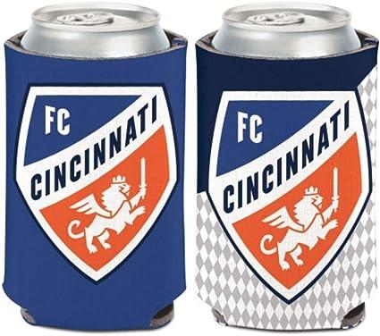 Can Cooler MLS FC Cincinnati 1 Pack 2-Sided 12oz