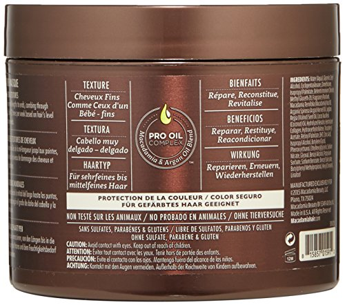 Macadamia Professional Weightless Moisture Masque - 7.5 oz by Macadamia Professional (Image #2)