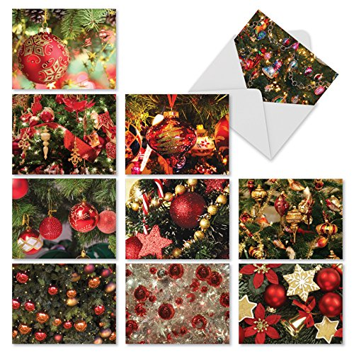 M3266 RED BLISS: 10 Assorted All-Occasion Note Cards w/Matching Envelopes.: 10 Assorted Blank All Occasions Cards With Envelopes. Bliss Framed Print