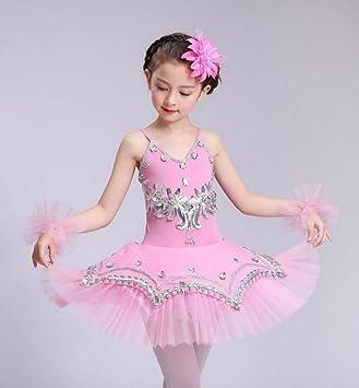 Trajes de los niños niñas Bailarina Falda tutú Sujetador ...