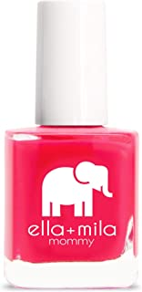 product image for ella+mila Nail Polish, Mommy Collection - Melonade
