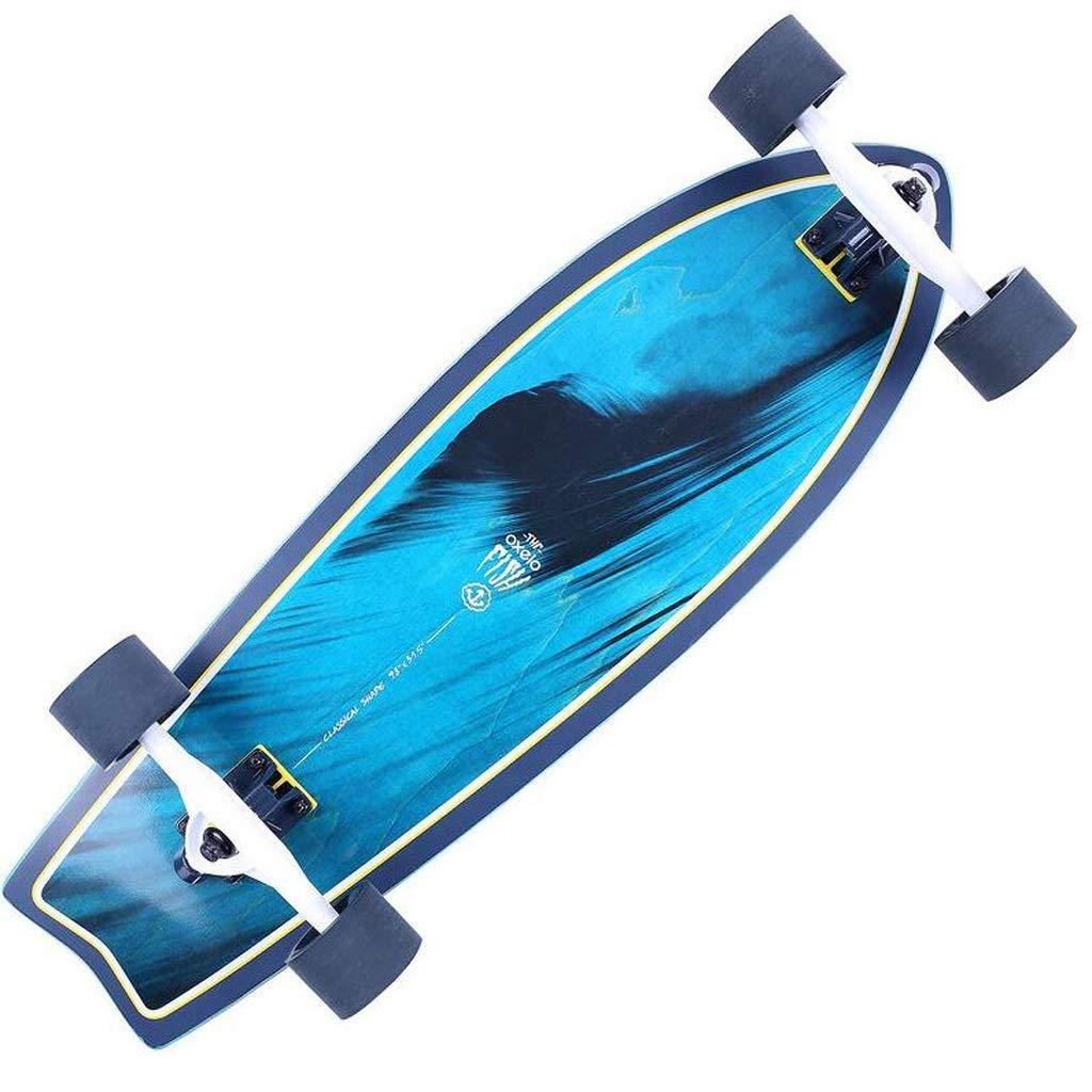 QYLOZ Big Fish Plate Skateboard Tabla Larga Chicos y Chicas ...