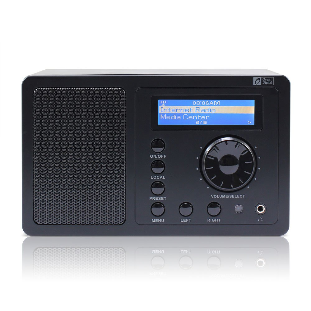ocean digital internet radio tuner wr220 wifi wlan. Black Bedroom Furniture Sets. Home Design Ideas