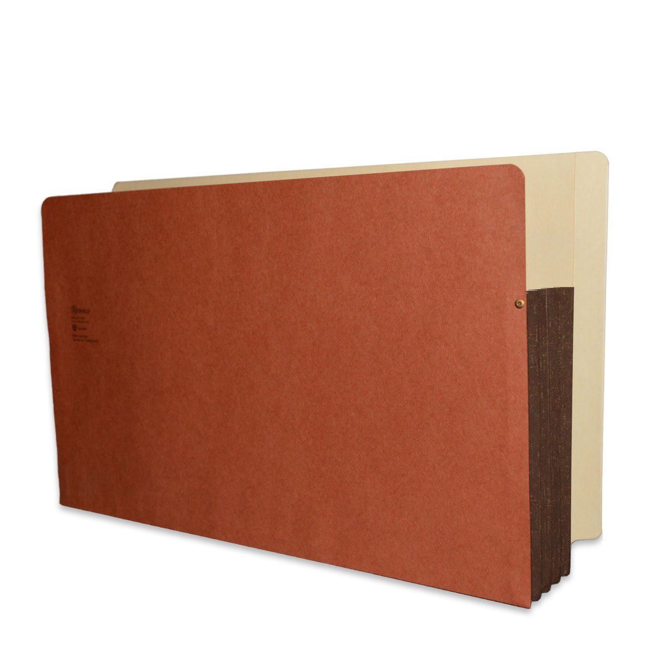 Redweld End Tab File Pocket, Legal Size with 3 1/2'' Fully Reinforced Tyvek Gusset, 50 per Carton
