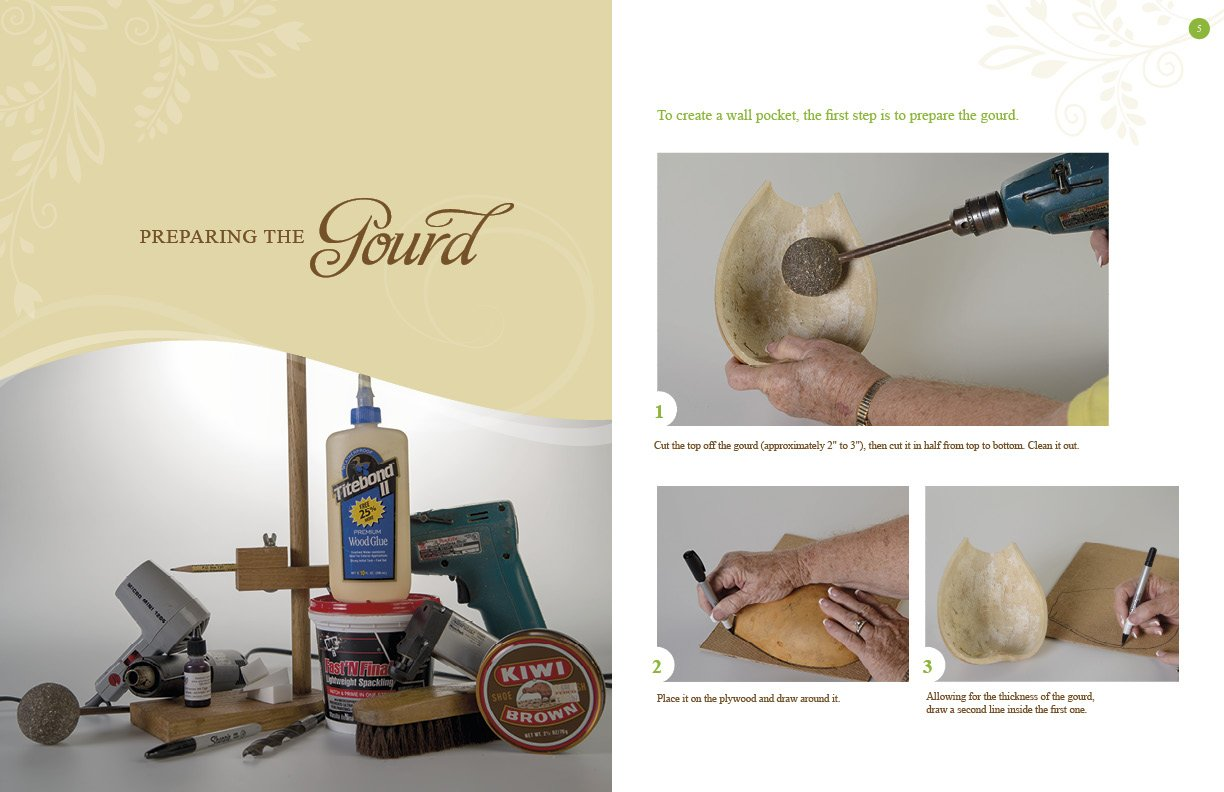 Amazon.com: Creating Wall Pockets: 10 Gourd Projects to Paint and ...