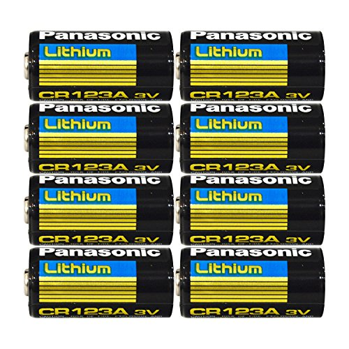 Panasonic CR123A Lithium Photo Batteries