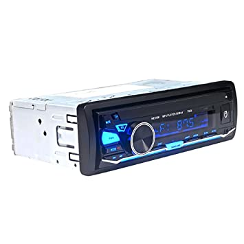 D DOLITY Bluetooth Amplificador Reproductor MP3 Player 12V Autoestéreos Coche Sonido Audio