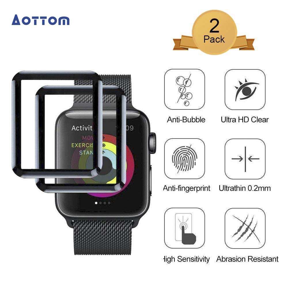 Film Protector Para Apple Watch 38mm X2 Aottom -7g24v8fl