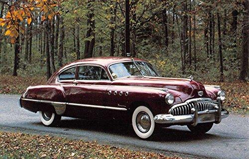 Bluffton Indiana 1949 Buick Roadmaster Vintage Postcard - Store Bluffton