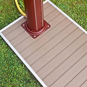 Gre - Base para Ducha Solar 90 x 60 cm: Amazon.es: Jardín
