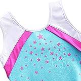 BAOHULU Little Girls Gymnastics Leotards Shiny