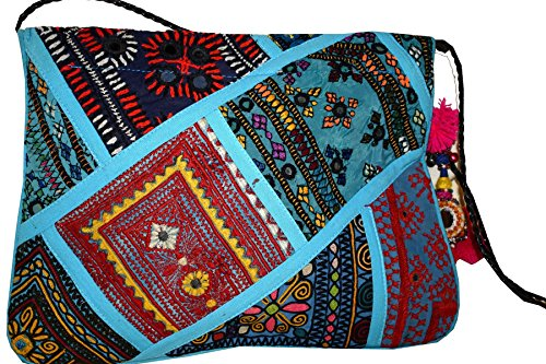 Tribal Asian Textiles, Poschette giorno donna Multi-Color