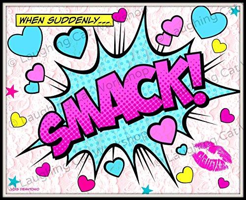 valentines-dar-decor-funny-girls-comic-print-cute-girls-room-decor-funny-comic-print-girly-girl-wall