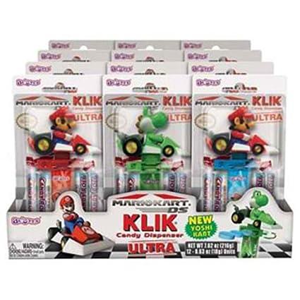 Nintendo Super Mario Kart Klick Dispensador de Candy 12 ...