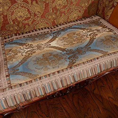European style sofa cushions Sofa fabric fashion scarf Sofa cushion A 70x240cm(28x94inch) by Sofa towel