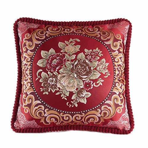 Embroidery Decorative Pillow - 8